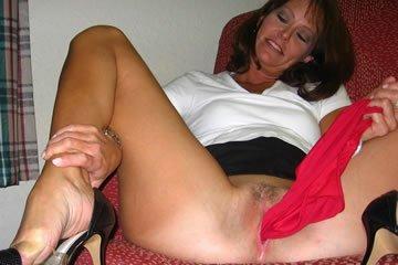 MILF szex