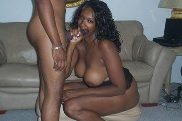 Xenia - fekete szexbomba fekete lőcsön