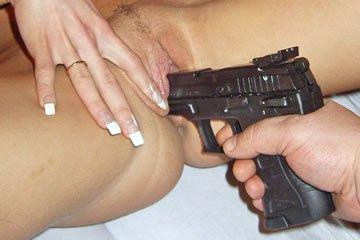 Valentina - pisztolycső a pinámban