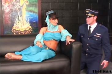 Lisa Ann - nagymellű hastáncosnő szex